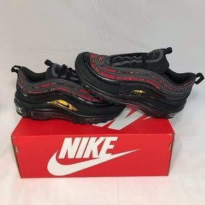 Nike Air Max 97 SE Tartan Flannel Print Sneakers